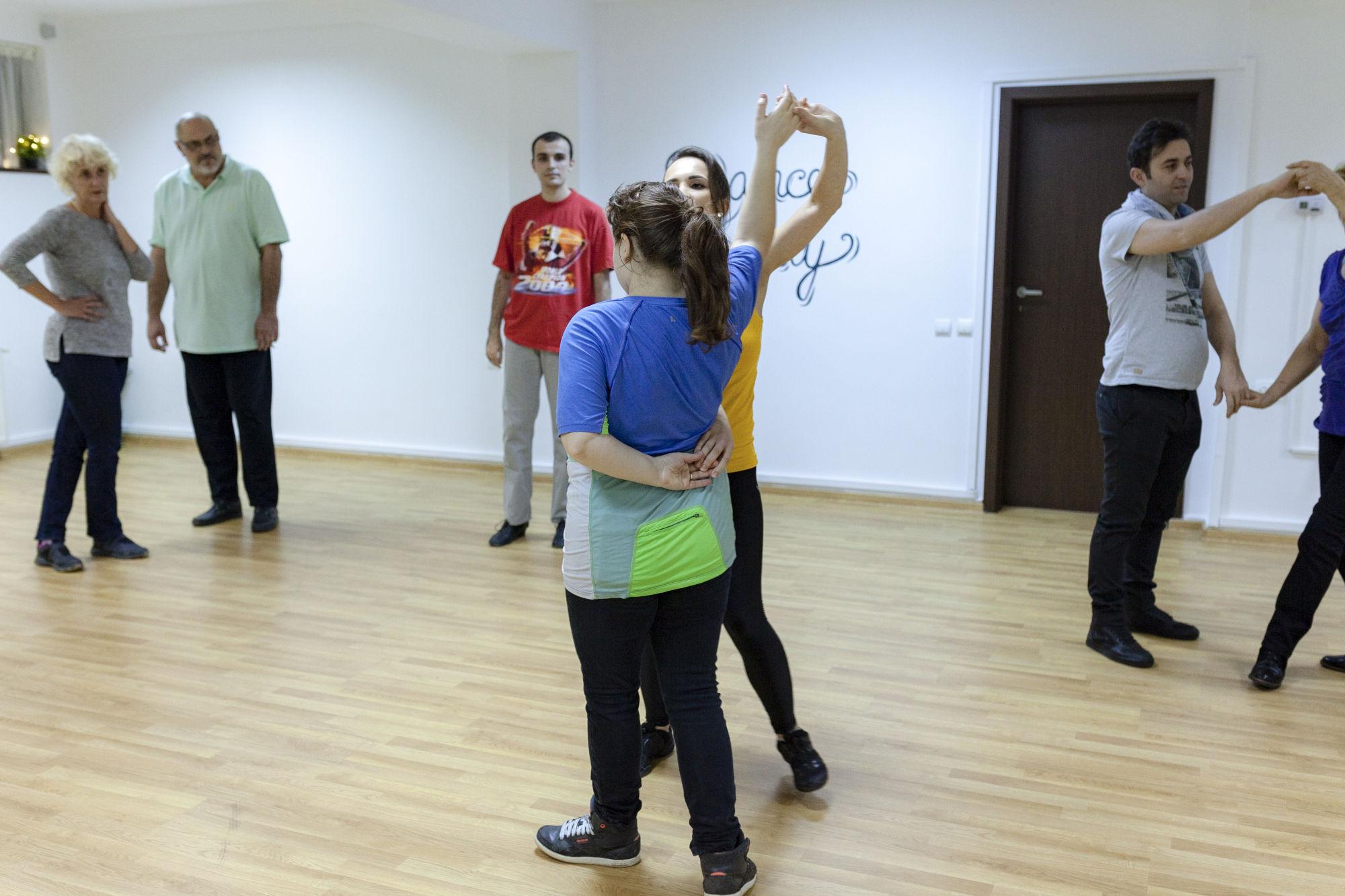 pasi de dans