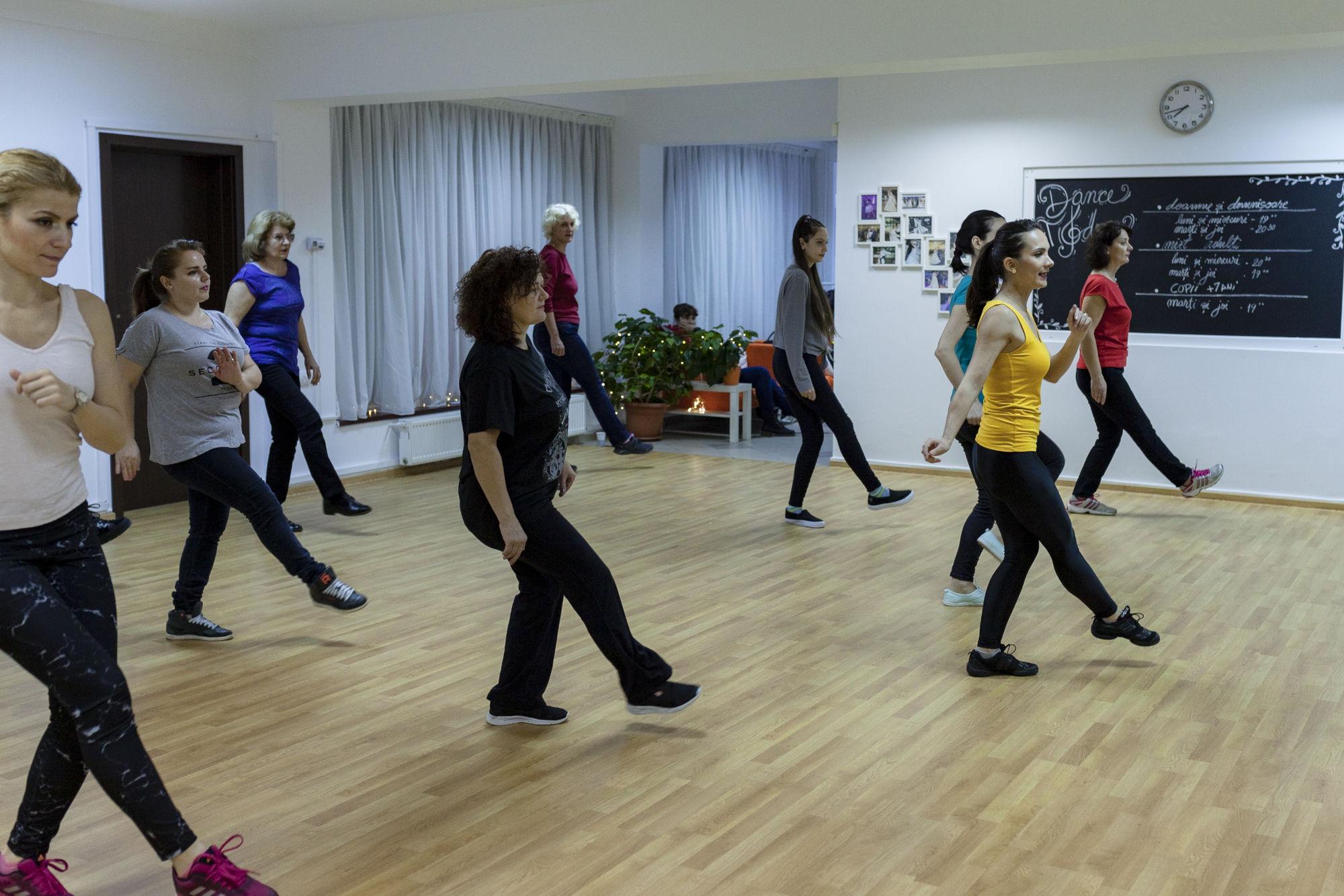 sala de dans Dance Today Bucuresti